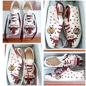 Other - Chicago Bulls Custom Shoes